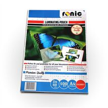 Folie de laminat lucioasa tip plic A4 - RONIC