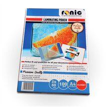 Folie de laminat lucioasa tip plic A3 - RONIC