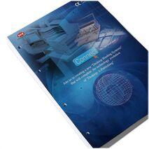 Echipament manual profesional de gaurit hartia cu 1 burghiu SPC FP - I (B+C)