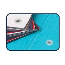 Tub de plastic pentru indosarierea documentelor cu nituri din plastic