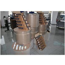 Inele din metal in bobina pentru indosariat pas 3:1 diametru 9.5mm (3/8 inch)