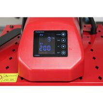 Presa de transfer termic plana tip Swing-Away UNITEC HP3805-2