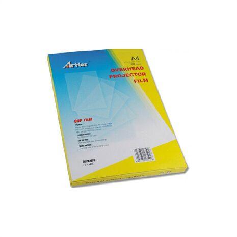 Folie laser pentru retroproiector, format A4
