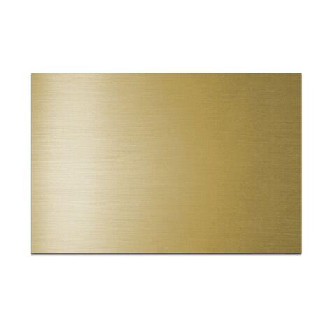 Placa din plastic ABS - 10, culoare AURIU LUCIOS