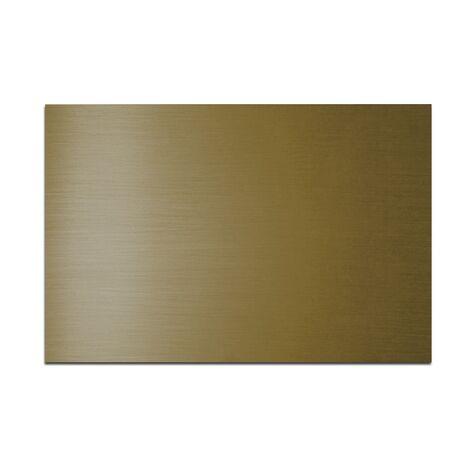 Placa din plastic ABS - 12, culoare AURIU MAT