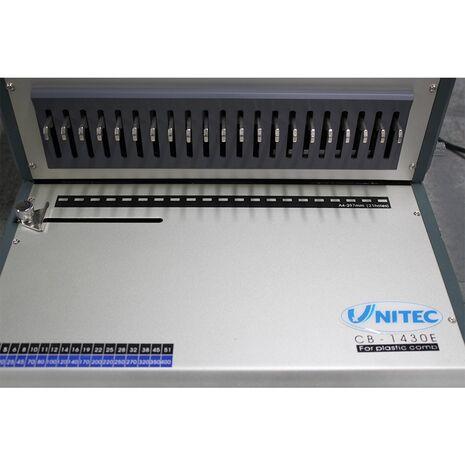Indosariere cu inele din plastic  UNITEC CB-1430E
